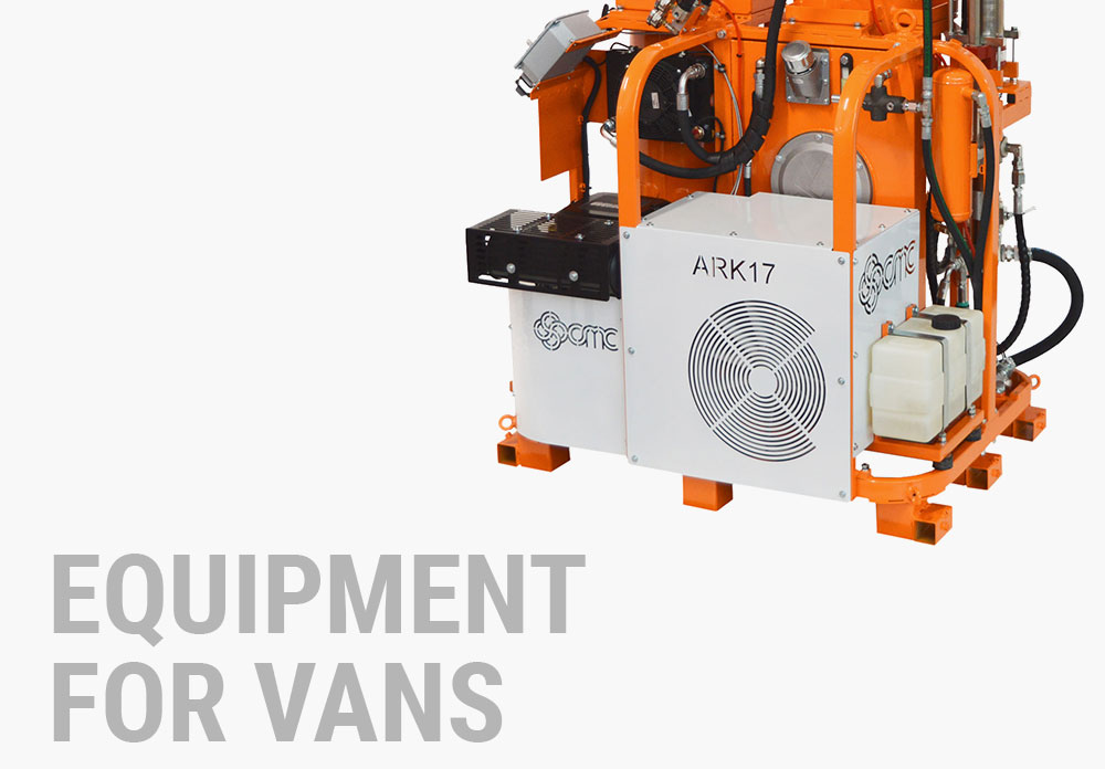 EQUIPMENT FOR VANS
